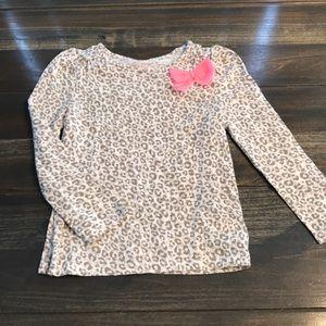 Toddler Girls Cherokee Leopard Long Sleeve Shirt